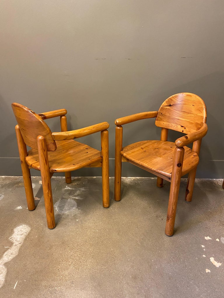 Dining Chairs by Rainer Daumiller for Hirtshals Sawmills, 1960s, Set of 6 In Good Condition For Sale In Austin, TX