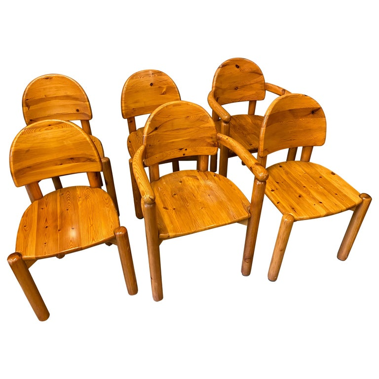 Dining Chairs by Rainer Daumiller for Hirtshals Sawmills, 1960s, Set of 6 For Sale