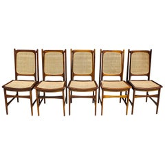 Dining Chairs by Sergio Rodrigues 'Set of 5'
