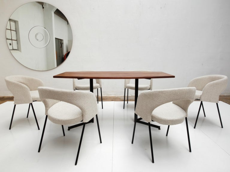 Gastone Rinaldi Dining Chairs from Hotel 'Abano Terme', 1960  with certificate For Sale 3