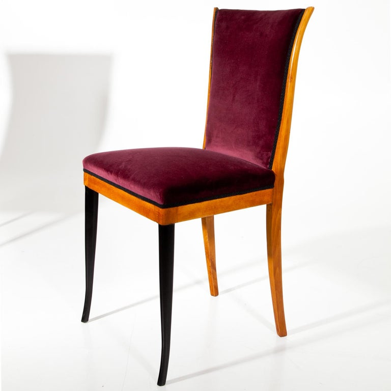 Italian Dining Chairs, Italy, Mid-20th Century For Sale