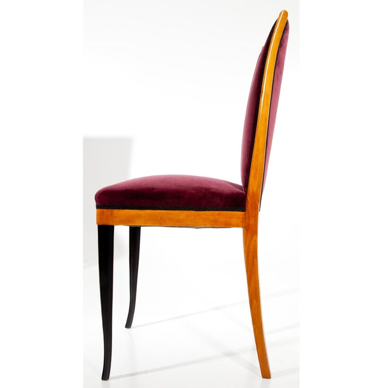 Dining Chairs, Italy, Mid-20th Century In Good Condition For Sale In Greding, DE