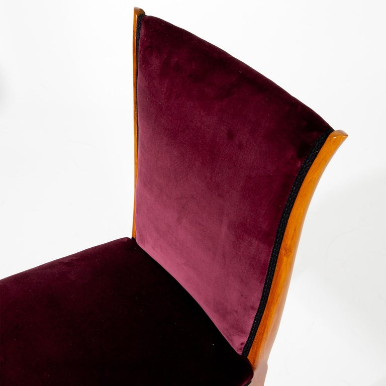 Dining Chairs, Italy, Mid-20th Century For Sale 1