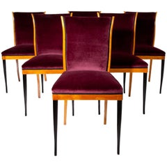 Dining Chairs, Italy, Mid-20th Century