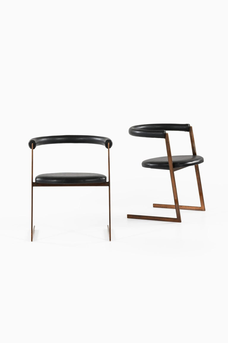 Mid-Century Modern Dining Chairs Produced in Italy For Sale