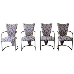 Dining Chairs, Set of 4, by Design Institute America, Midcentury, Reupholstered