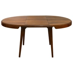 Dining Expandable Table by Carlo Hauner and Martin Eisler, Modern Brazilian 1950