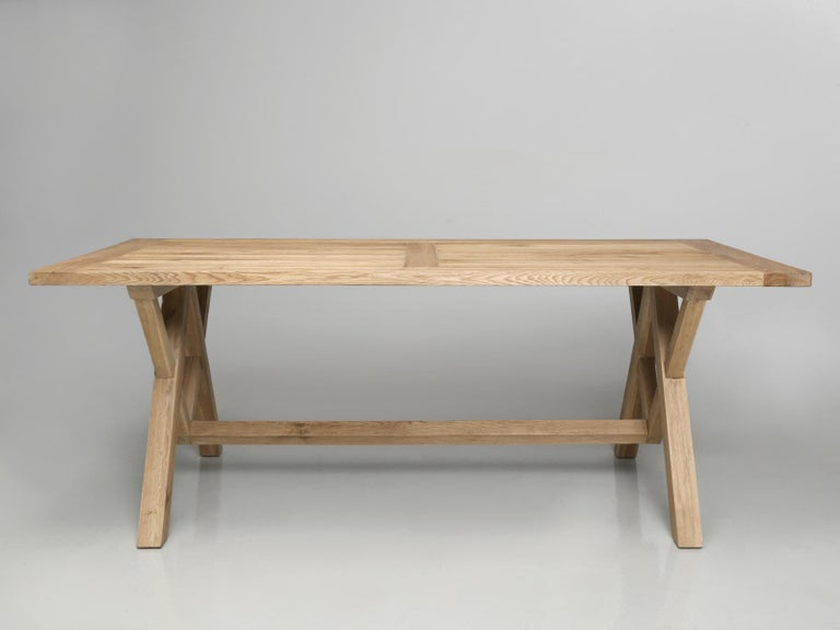 We purchased this table in England many years ago and in cleaning out our warehouse recently, we found a few new in the box that had been hidden for a couple of decades? They were made in Asia we believe from imported California white oak and are
