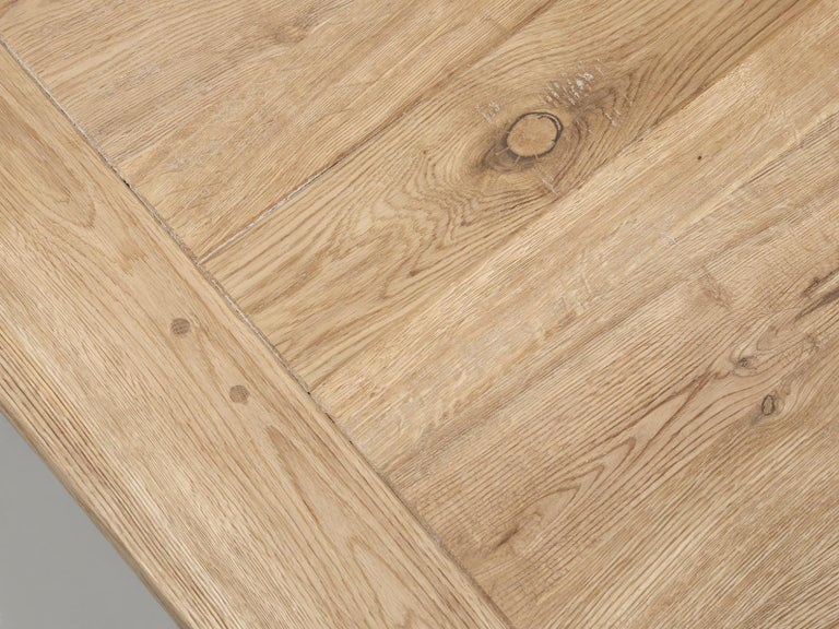 Dining or Kitchen Table Made from California White Oak For Sale 1