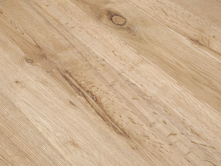 Dining or Kitchen Table Made from California White Oak For Sale 2