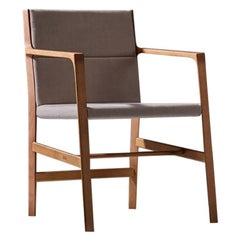 Dining Room Chair in Hardwood, Contemporary Brazilian Design