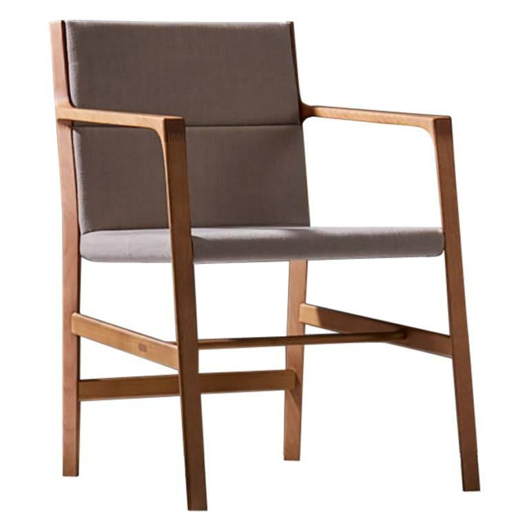 Dining Room Chair In Solid Wood Contemporary Brazilian