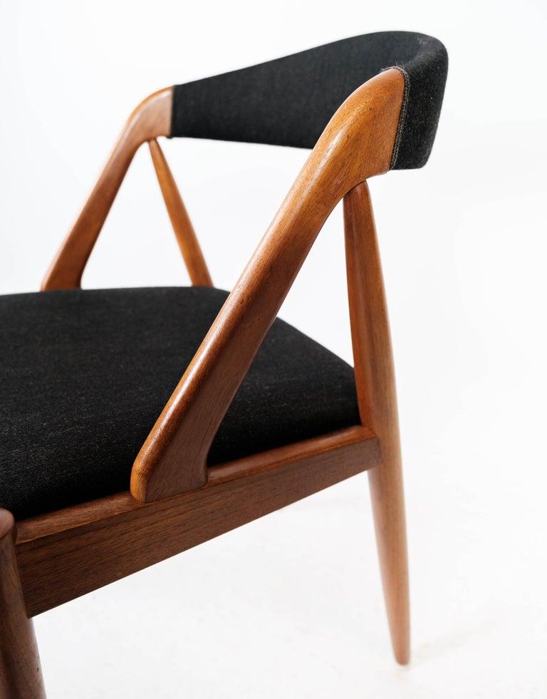 Danish Dining Room Chair, Model 31, Designed by Kai Kristiansen in 1956 For Sale