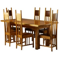 Dining Room Set, Finland, Early 1900s