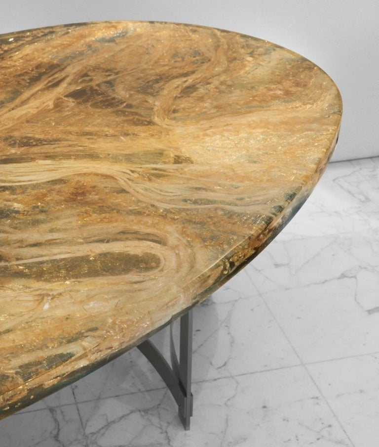 Futurist Dining-Room Table by Gilles Charbin For Sale