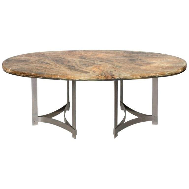 Dining-Room Table by Gilles Charbin For Sale