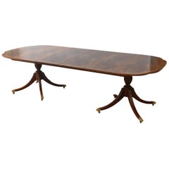 Dining Room Table, Historic Charleston Collection Signed Baker, Original Lable