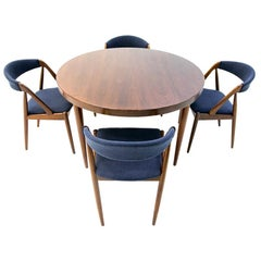 Dining Room Table Set with Kai Kristiansen Chairs