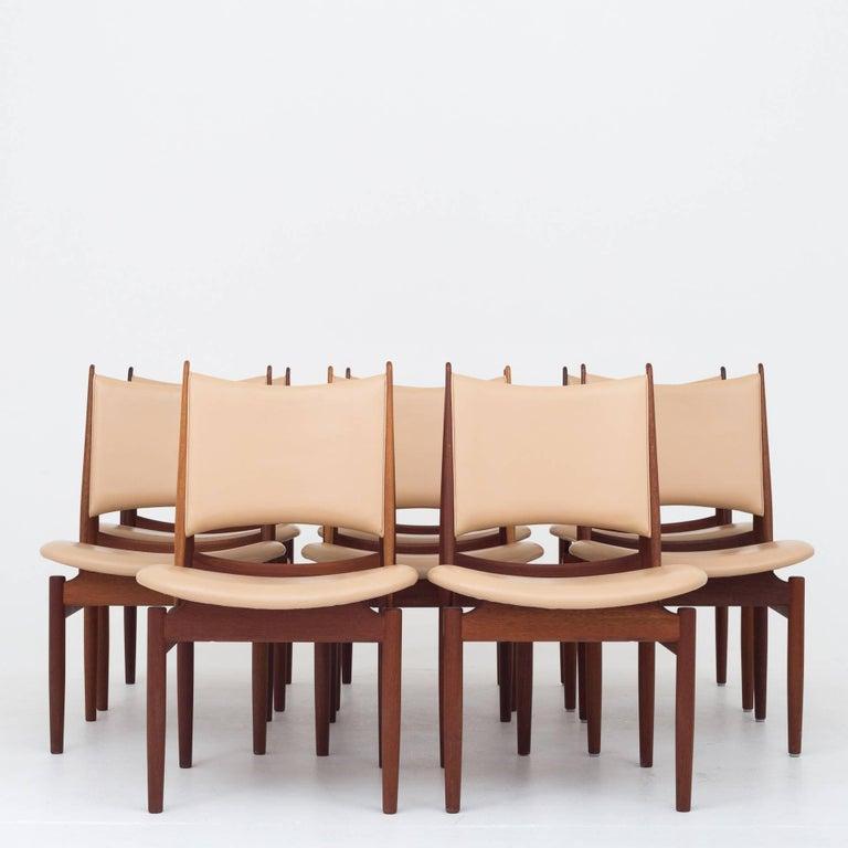 Danish Dining Set by Finn Juhl For Sale