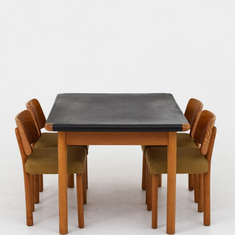 Dining Set by Hans Christian Hansen & Erhard Rasmussen For Sale 2