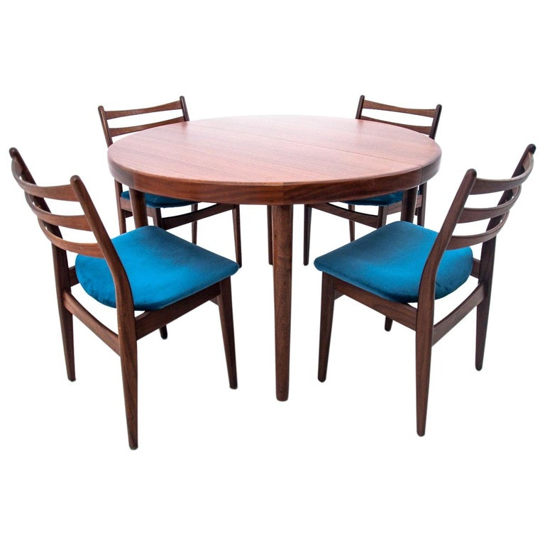 Dining Set Danish Design, 1960s