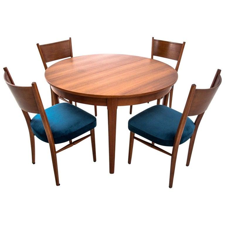 Dining Set Danish Design, 1960s