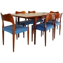 Dining Set - Danish Midcentury Teak by Arne Hovmand Olsen for Mogens Kold