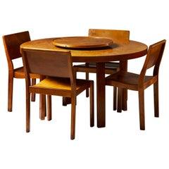 Dining Set Designed by Alvar Aalto for Finmar Ltd., Finland, 1929-1935