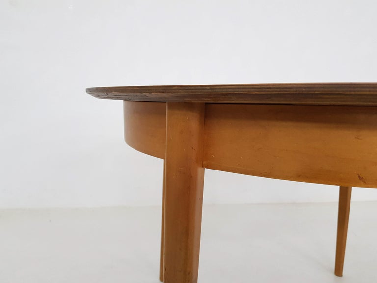 Dining Set with Table TB35 and Chair SB11, Cees Braakman for Pastoe, Dutch 1950s For Sale 8
