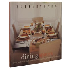 Dining Spaces Decorative Book by Pottery Barn
