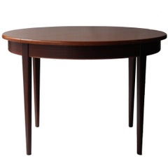 Dining Table, Covered in Rosewood, Italy, 1950
