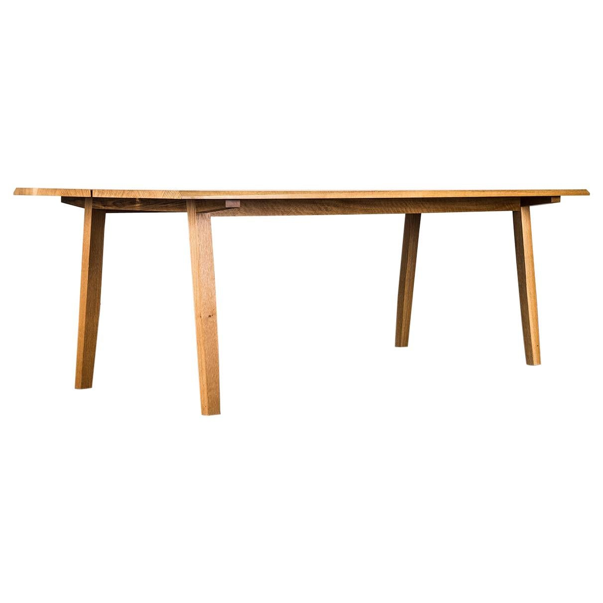 Dining Table, 8 Seat, Custom, Walnut, Modern, Rift Hardwood, Semigood Design