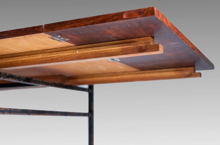 Dining Table, Alain Richard, Series 800, Meubles TV Edition, 1958 In Good Condition For Sale In Paris, FR