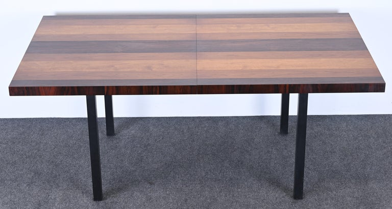 Dining Table and Chairs by Milo Baughman for Directional, 1960s For Sale 3