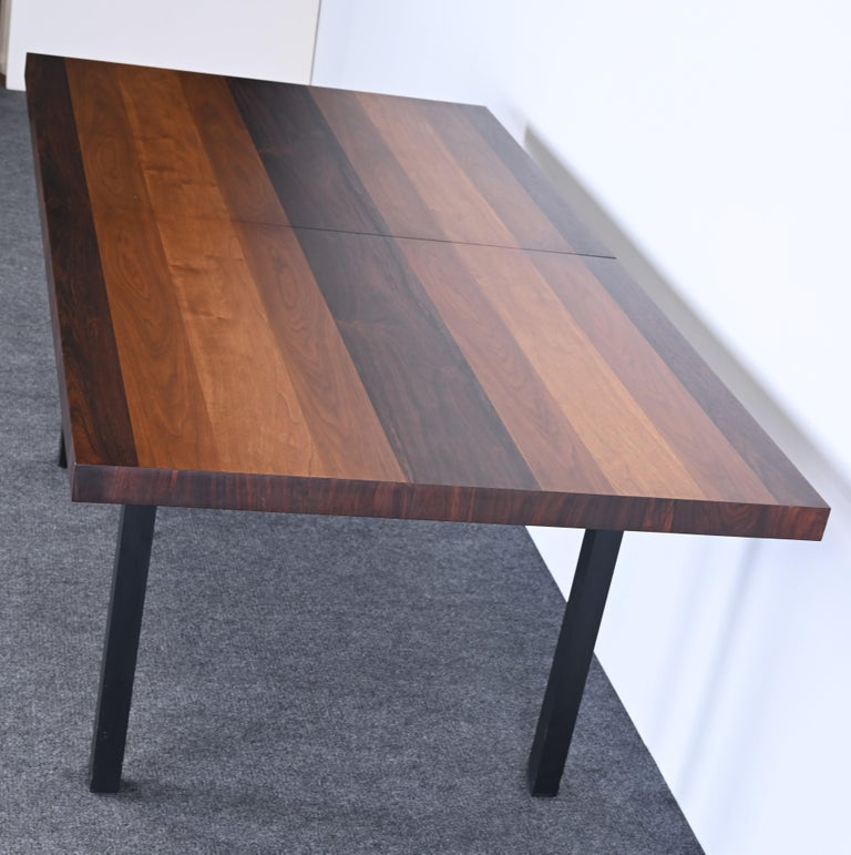 Dining Table and Chairs by Milo Baughman for Directional, 1960s For Sale 4