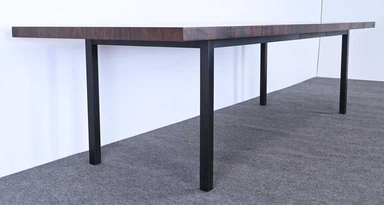 Dining Table and Chairs by Milo Baughman for Directional, 1960s For Sale 9
