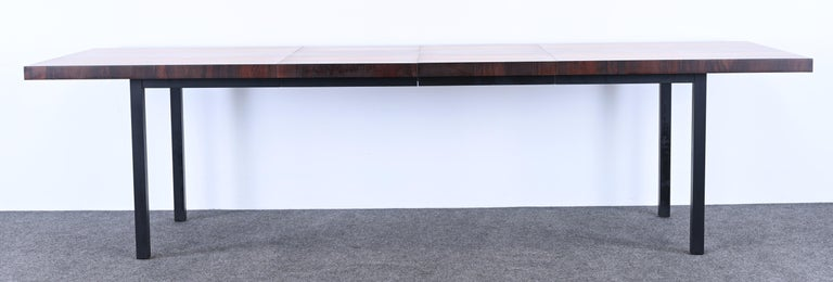 Dining Table and Chairs by Milo Baughman for Directional, 1960s For Sale 1