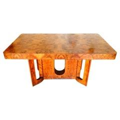 Dining Table Art Deco Design Carlo Monguzzi, Lissone, 1950s