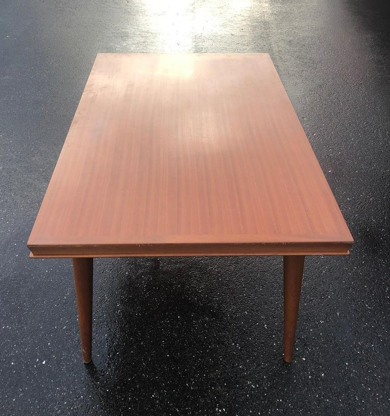 Dining table with in original condition with built in leaves , each leaf is 50 centimeters (20