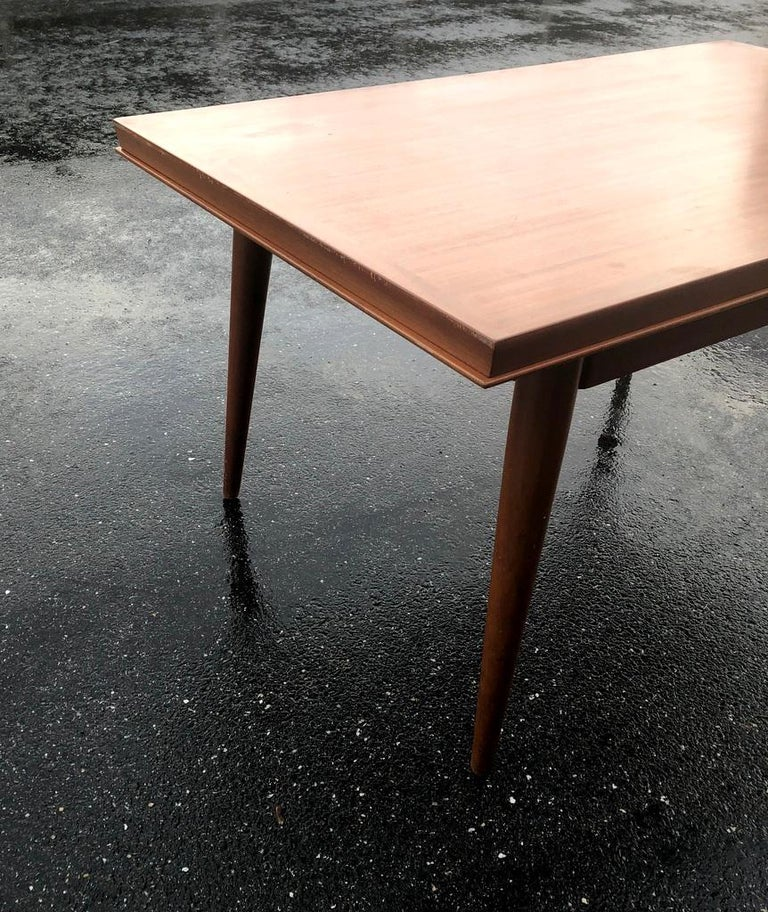French Dining Table by Gaston Poisson For Sale