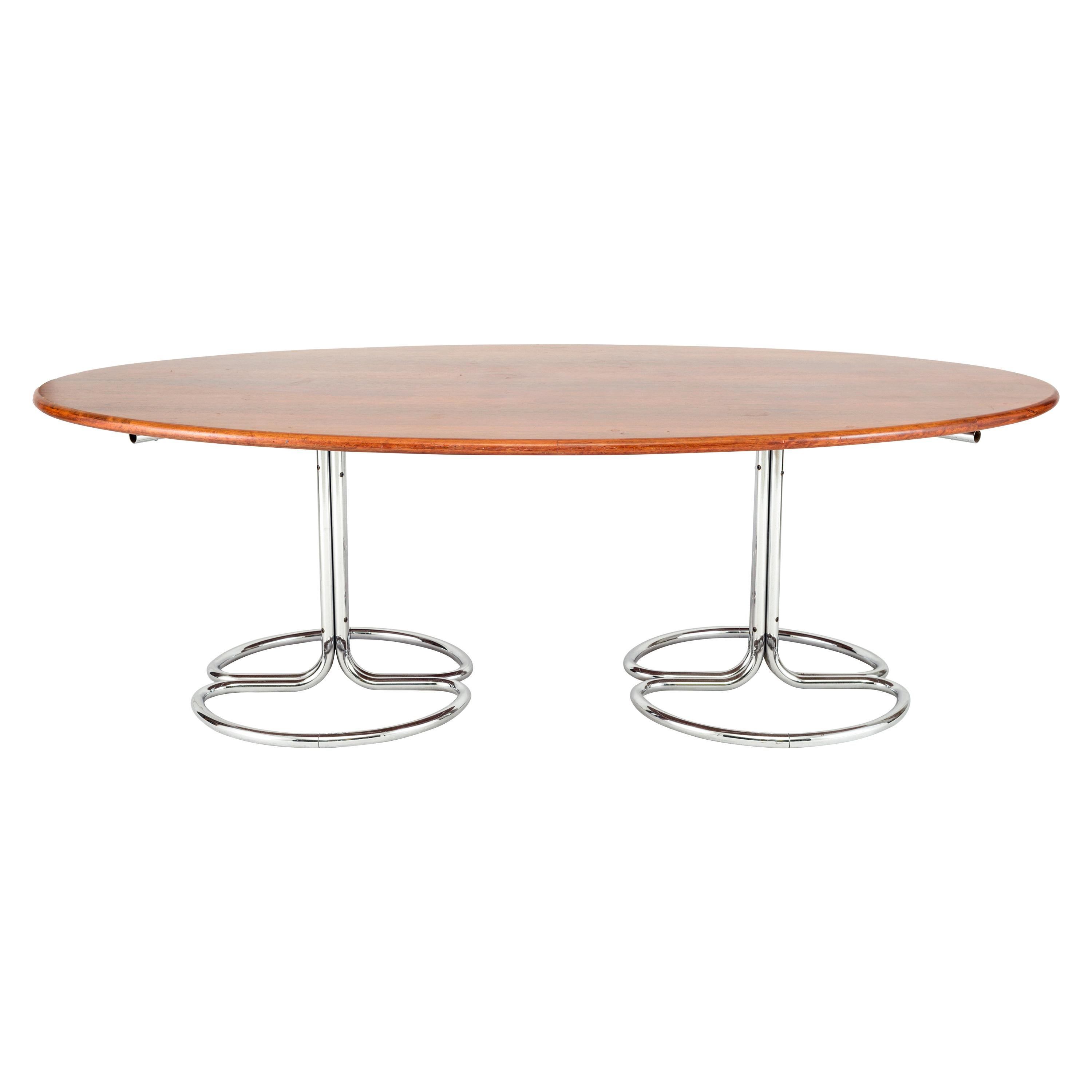 Dining Table by Giotto Stoppino for Bernini, Italy, Late 1960s