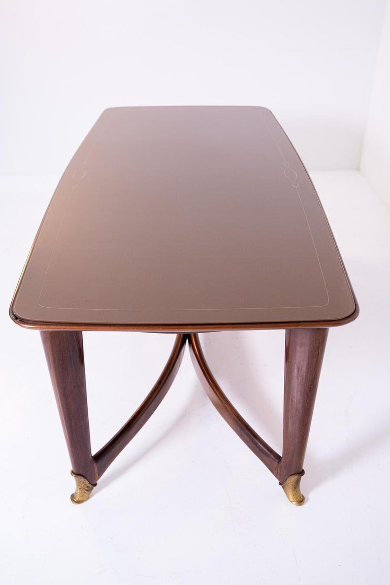 Dining Table by Guglielmo Ulrich, 1950s For Sale 3