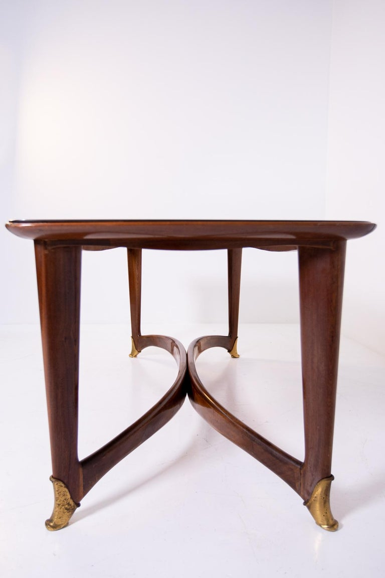 Dining Table by Guglielmo Ulrich, 1950s For Sale 4