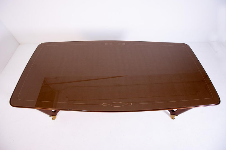 Mid-20th Century Dining Table by Guglielmo Ulrich, 1950s For Sale