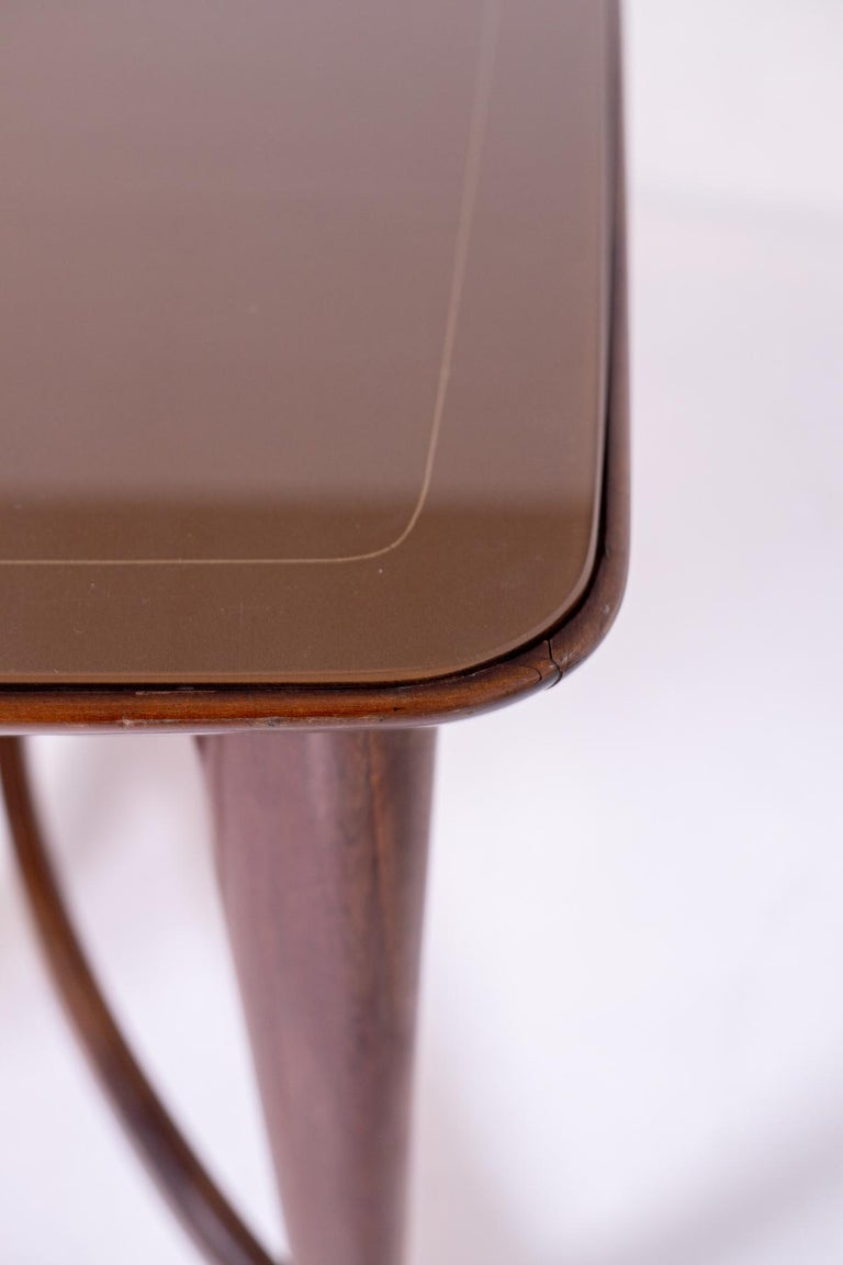 Walnut Dining Table by Guglielmo Ulrich, 1950s For Sale