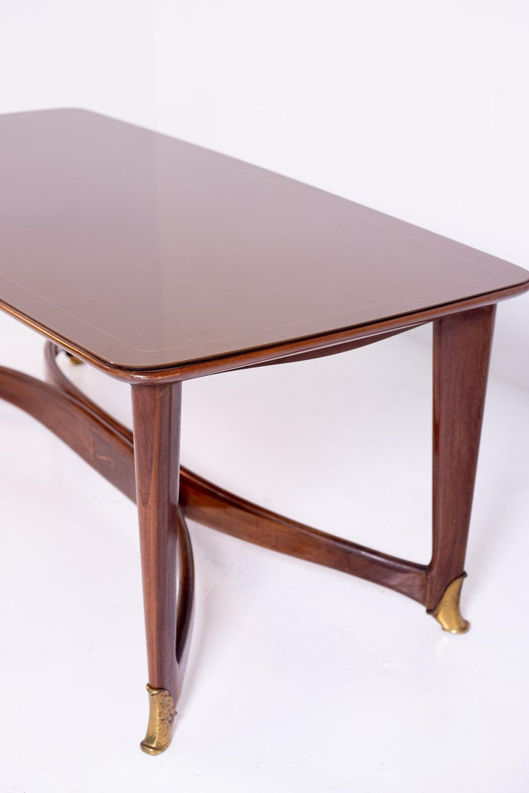 Dining Table by Guglielmo Ulrich, 1950s For Sale 2
