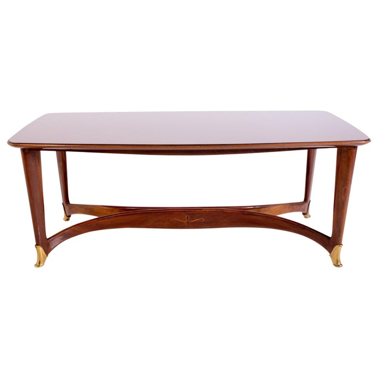 Dining Table by Guglielmo Ulrich, 1950s For Sale