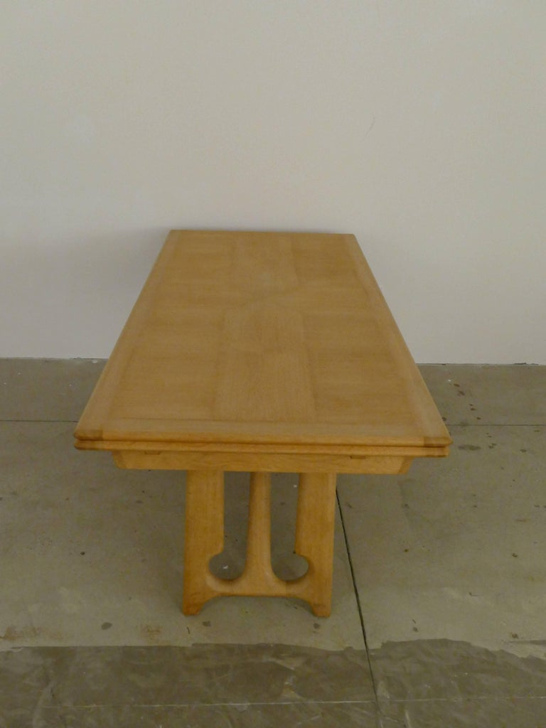 """Dining Table by Guillerme et Chambron, """"A l'Italienne"""" For Sale 3"""