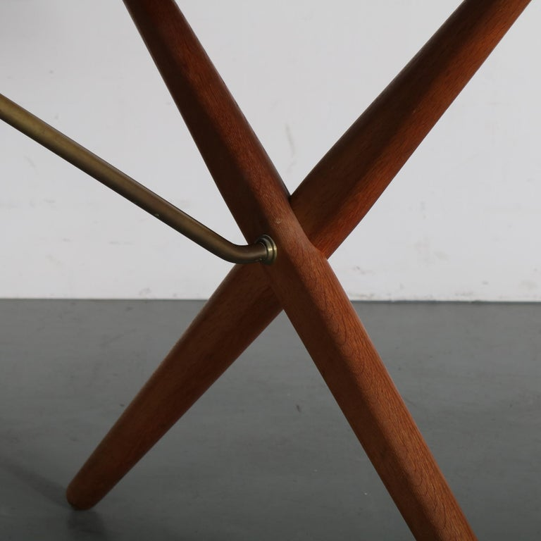 Dining Table by Hans J. Wegner for Andreas Tuck, Denmark, circa 1950 For Sale 4