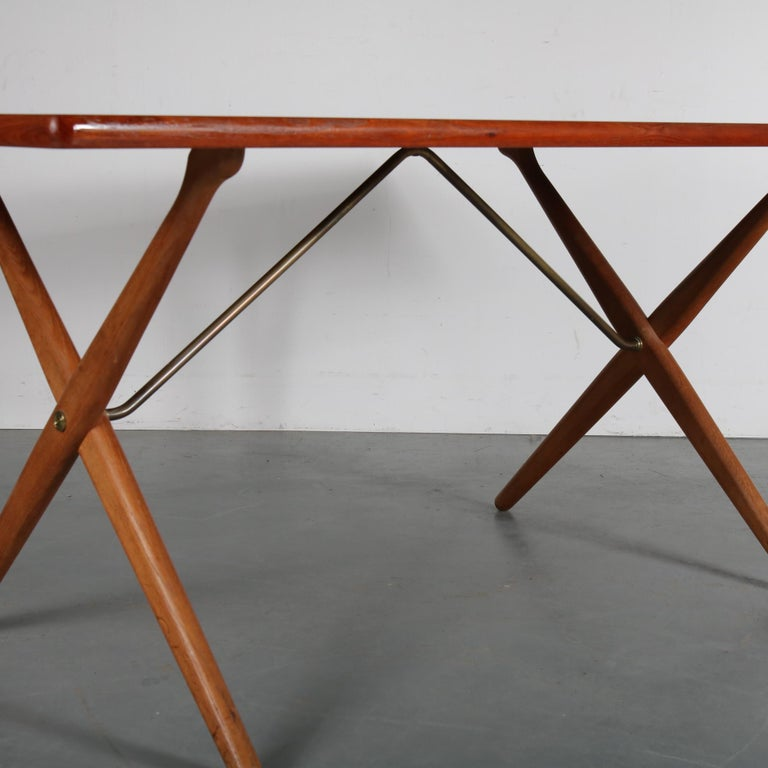 Dining Table by Hans J. Wegner for Andreas Tuck, Denmark, circa 1950 For Sale 6